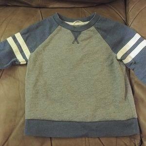 Cherokee brand sporty blue grey 2t sweatshirt top,